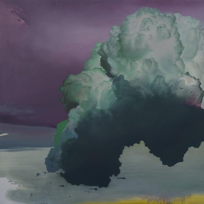 Atmosphere No. 50 – Follow You Into the Dark (2014) | 72×96 pollici, olio su tela