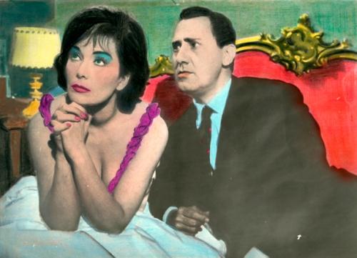 AA.VV. Anonimo / s.t., Il boom, 1963. Hand coloured gelatin silver prints
