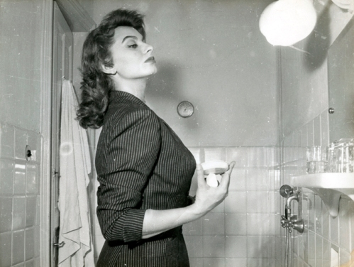 AA.VV. Anonimo, Sophia Loren, vintage gelatin silver print