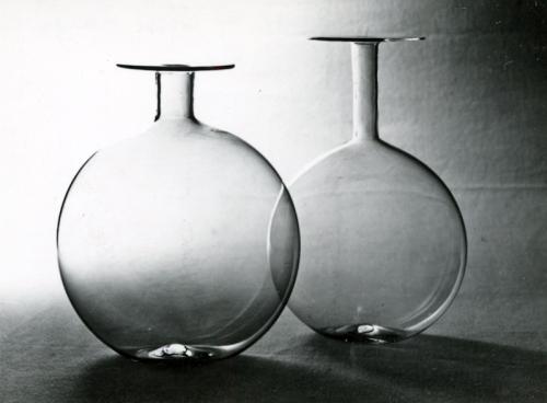 AA.VV. Anonimo, Fratelli Toso glass vases, vintage gelatin silver print