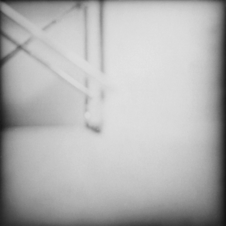 Jiri Sigut, John Cage — Music for Marcel Duchamp, Ostrava-Poruba, 6.10.1987. Gelatin silver bromide print.