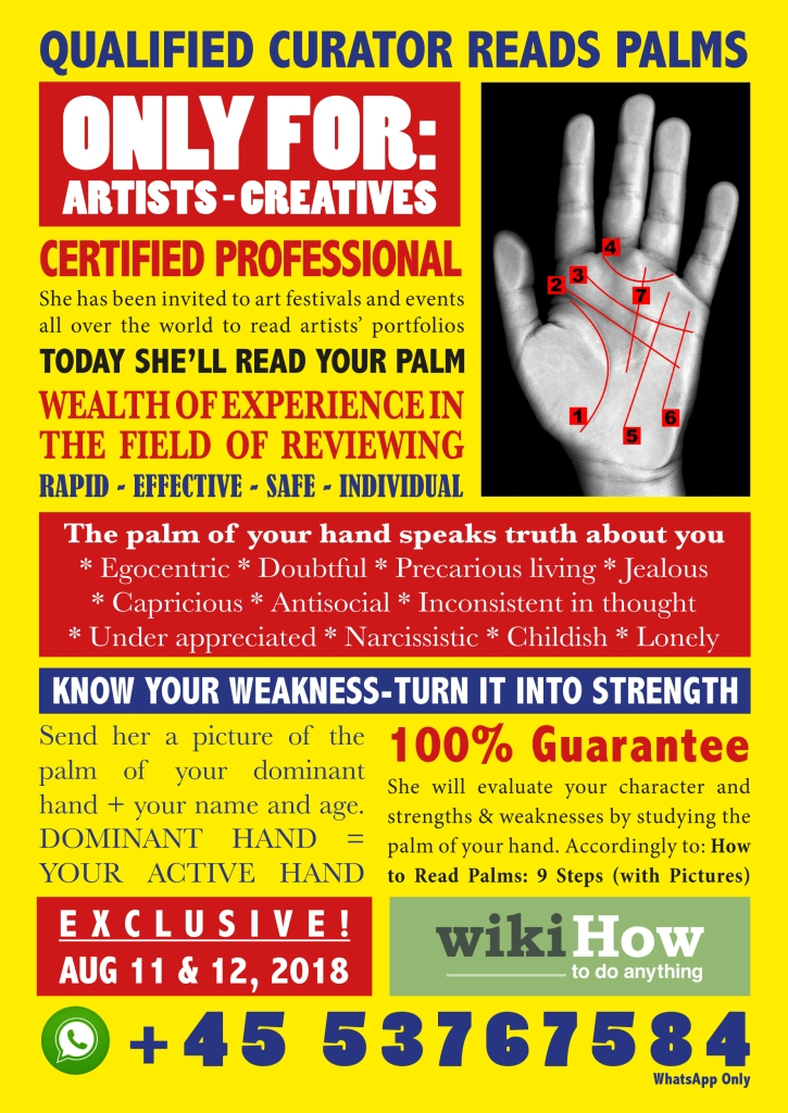 Palm Reading for Artists