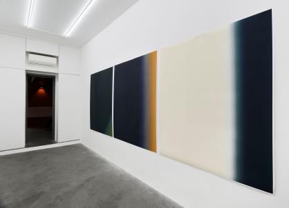 Installation view – Giulia Marchi, Gradiente, 2018